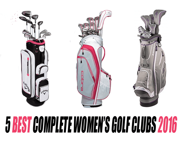 5 best complete womens golf clubs 2016
