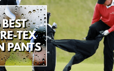 5 Best Men's Golf Rain Pants With GORE-TEX Fabric