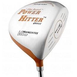Weighted golf club momentus power hitter