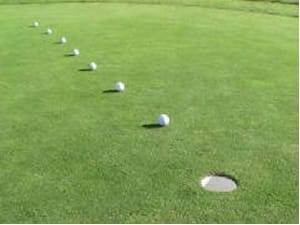 golf putting distance control
