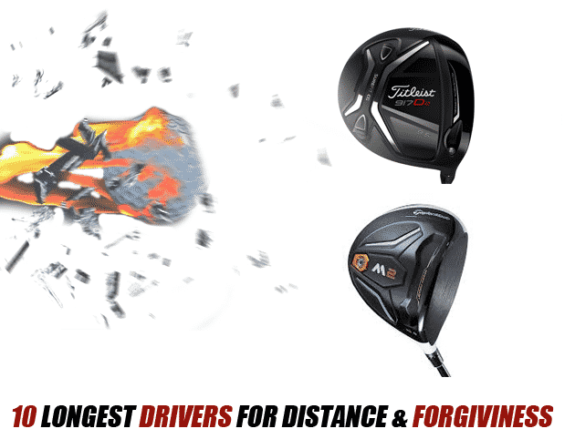10 longest drivers for distance and forgiveness 2016