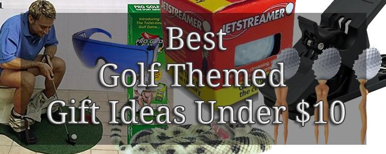 Funny Novelty Golf Gag Themed Gift Ideas Under $10