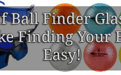 Losing Golf balls? Golf Ball Finder Glasses with Chromax Golf Balls